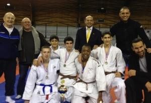 équipe cadette championne départementale 2012-2013